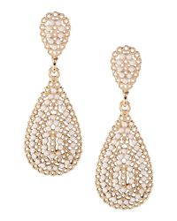 Kenneth Jay Lane - Metallic Earrings - Lyst