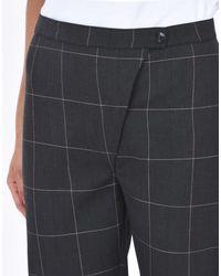 RAKHA - Gray Casual Trouser for Men - Lyst