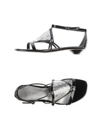 Nine West - Black Sandals - Lyst