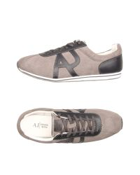 Armani Jeans | Gray Low-tops & Sneakers for Men | Lyst