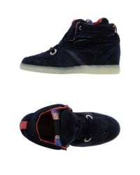 Serafini - Blue High-tops & Sneakers - Lyst