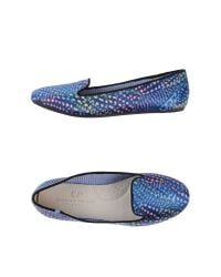 CP Charles Philip Shanghai - Blue Loafer - Lyst