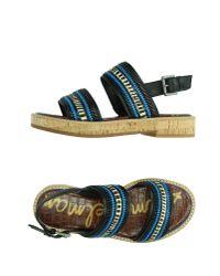 Sam Edelman - Blue Sandals - Lyst