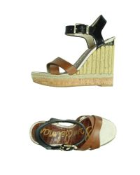 Sam Edelman - Brown Sandals - Lyst