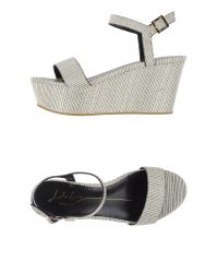 Lola Cruz - White Sandals - Lyst