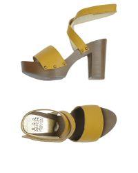 Almala - Yellow Sandals - Lyst