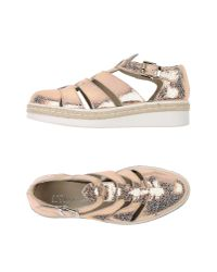 Piampiani | Metallic Sandals | Lyst