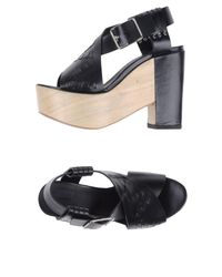 Thakoon Addition - Black Sandals - Lyst