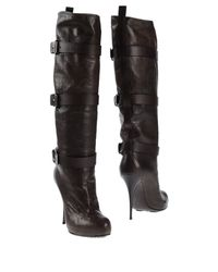 Giuseppe Zanotti | Black Tnight Boots | Lyst