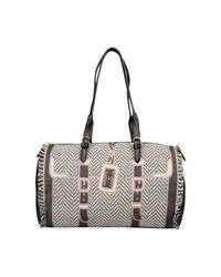 Roberta Di Camerino | Gray Large Fabric Bag | Lyst