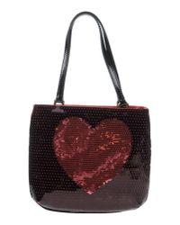 Boutique Moschino | Red Handbag | Lyst