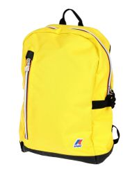 K-Way | Yellow Backpacks & Bum Bags for Men | Lyst