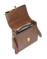 MSGM | Brown Cross-body Bag | Lyst