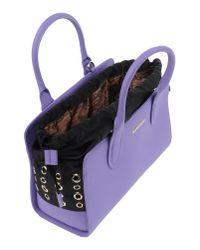Love Moschino | Purple Handbag | Lyst