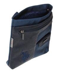 U.S. POLO ASSN. - Blue Cross-body Bag - Lyst