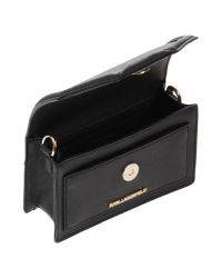 Karl Lagerfeld - Black Handbag - Lyst
