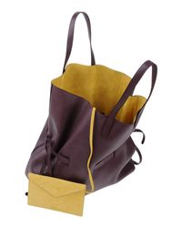 Jil Sander - Purple Handbag - Lyst