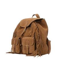 Saint Laurent | Brown Backpacks & Fanny Packs | Lyst