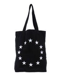 Etudes Studio - Black Star Embroidered Tote for Men - Lyst