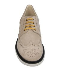 Hogan - Natural Lace-up Shoe for Men - Lyst