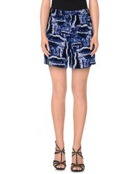 American Vintage - Blue Shorts - Lyst