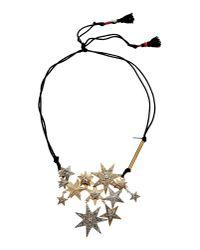Dries Van Noten - Metallic Necklace - Lyst
