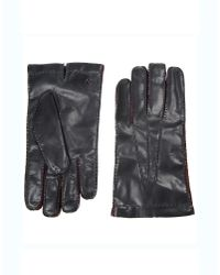 Giorgio Armani | Black Gloves for Men | Lyst