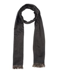 Trussardi - Metallic Oblong Scarf for Men - Lyst