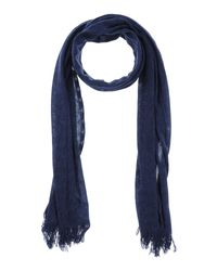 Armani Jeans - Blue Oblong Scarf for Men - Lyst