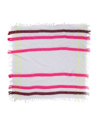 Maison Scotch - Pink Square Scarf - Lyst