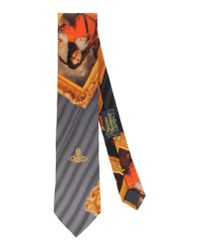 Vivienne Westwood - Gray Tie for Men - Lyst