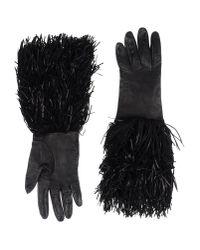 DSquared² | Black Gloves | Lyst