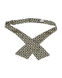 Pal Zileri - Natural Bow Tie for Men - Lyst