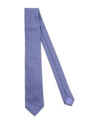 BOSS Black - Purple Tie for Men - Lyst