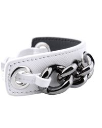 Jil Sander Navy - White Bracelet - Lyst
