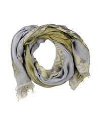 Just Cavalli - Green Oblong Scarf - Lyst