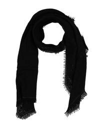 Maliparmi - Black Oblong Scarf - Lyst