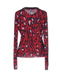 Angelo Marani - Red Cardigans - Lyst