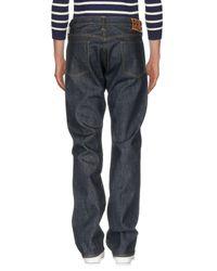 Ralph Lauren - Blue Denim Trousers for Men - Lyst