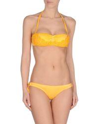 Agogoa - Orange Bikini - Lyst