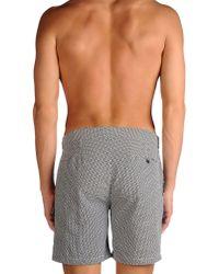 Frescobol Carioca - Gray Swimming Trunks for Men - Lyst