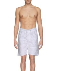Armani Jeans | Black Beach Shorts And Pants for Men | Lyst