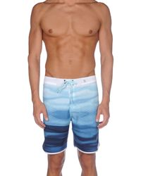 Hurley | Blue Beach Shorts And Trousers for Men | Lyst