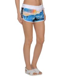 Hurley - Blue Beach Shorts And Pants - Lyst