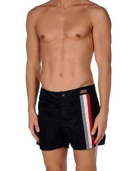 Emporio Armani | Blue Swimming Trunks for Men | Lyst