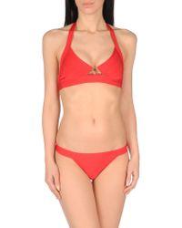 Hervé Léger - Red Bikini - Lyst