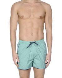 Blend - Green Swim Trunks for Men - Lyst