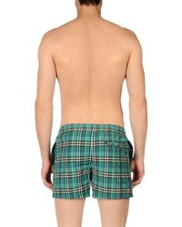 Burberry - Green Swim Trunks for Men - Lyst