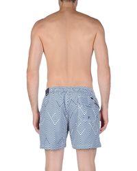 Rrd - Blue Swim Trunks for Men - Lyst