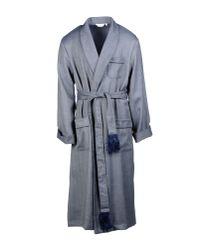 Derek Rose - Gray Dressing Gown for Men - Lyst